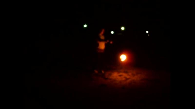 Ностальгия 2013 Поездка в Аркаим Попытка зажечь с поями любезно одолженными заезжими файерщиками