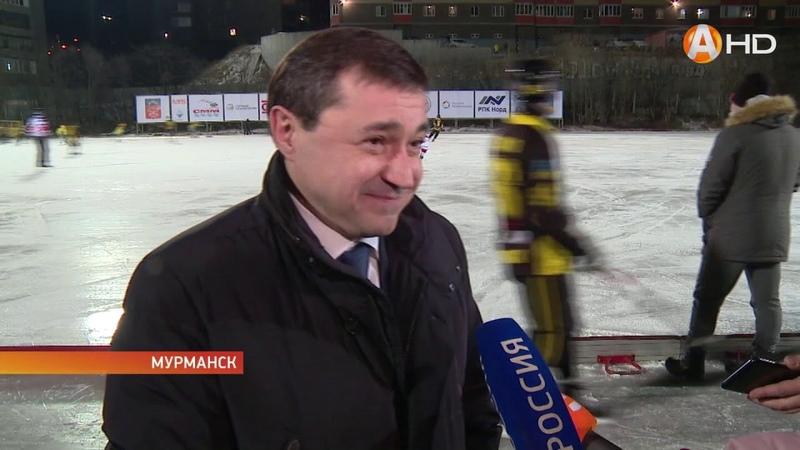 Арктик-ТВ «Мурман» покоряет лёд