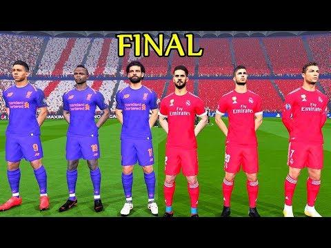 Real Madrid vs Liverpool (New Away Kit) Final UEFA Champions League 2018