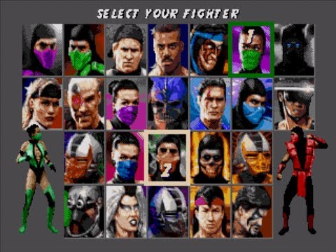 Ultimate Mortal Kombat 3 играю за ваших персонажей! Ностальгия MK 3.