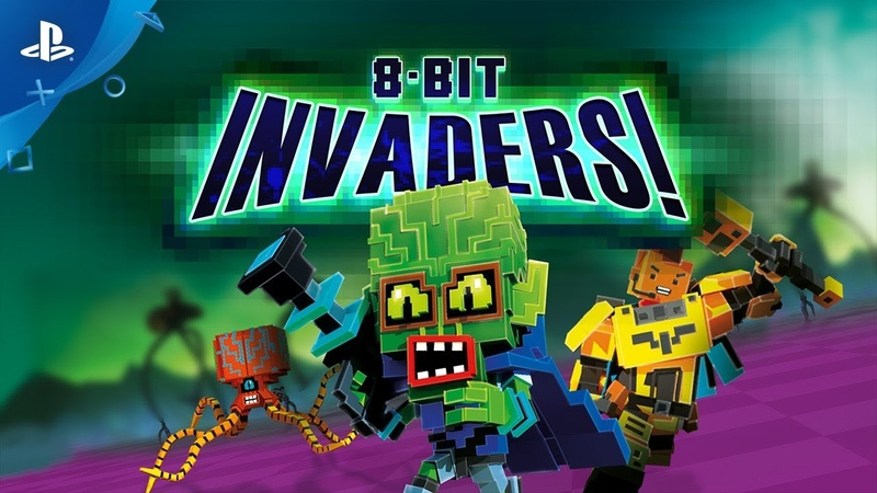 8-Bit Invaders! - Gameplay Trailer | PS4