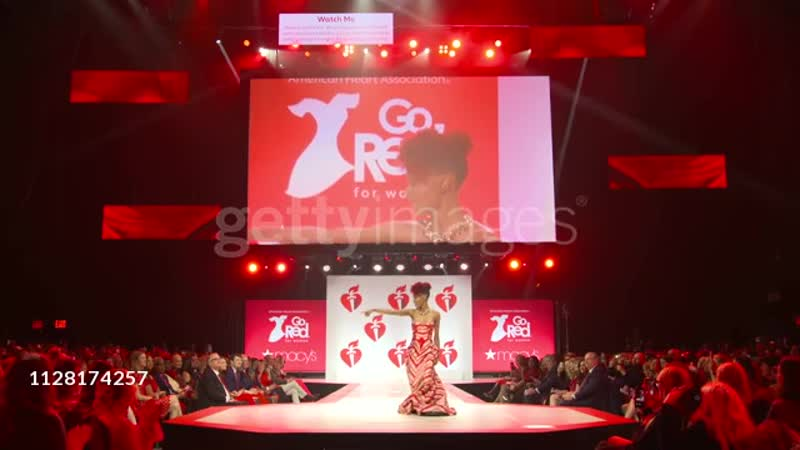 Ashleigh Murray at the The American Heart Associations Go Red for Women Red Dress Collection 2019