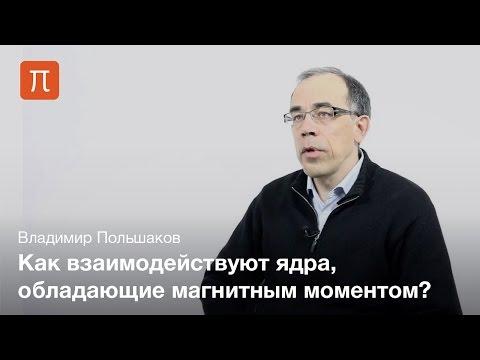 Ядерный магнитный резонанс — Владимир Польшаков