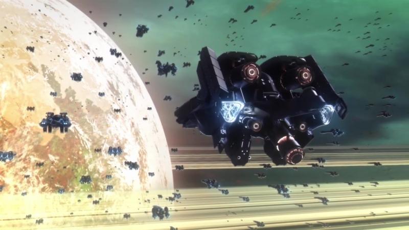 Ginga Eiyuu Densetsu Die Neue These Kaikou Легенда о героях Галактики 2018 12 серия END Озвучка Azazel Oriko AniDub