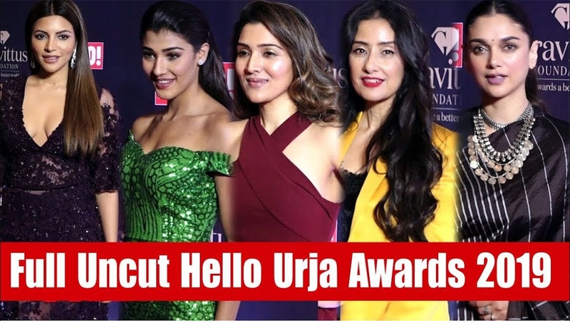 "Bollywood Celebs At Red Carpet Of ""Hello Urja Awards 2019"" 