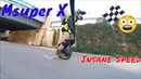 Gotway Msuper X *Fastest City Ride Ever* (Electric Unicycle Record Top Speeds)