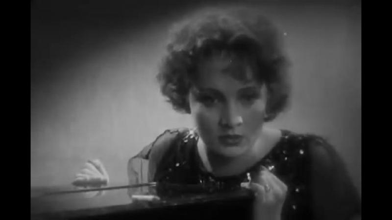 Кинопробы Марлен Дитрих к фильму Голубой ангел 1930