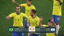 PES 2019 Бразилия vs Аргентина PS4 Gameplay