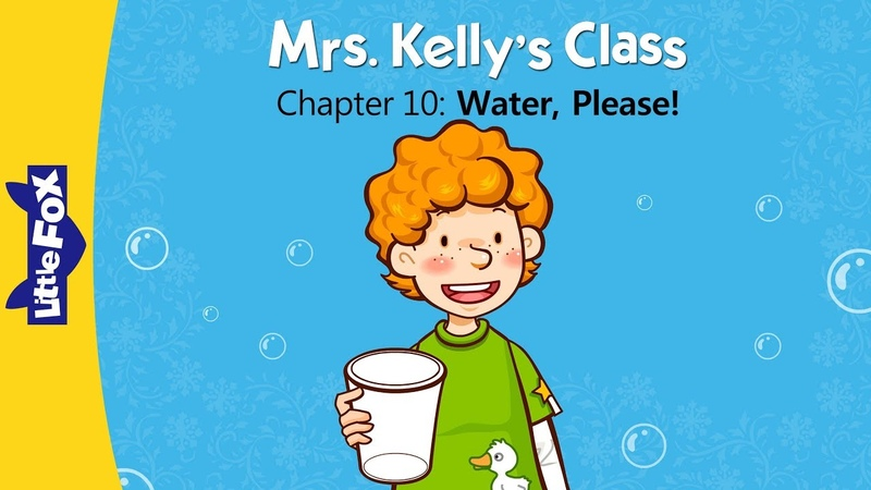Mrs. Kelly's Class 10 | Water, Please! | Learning | Little Fox | Animated Stories for Kids
