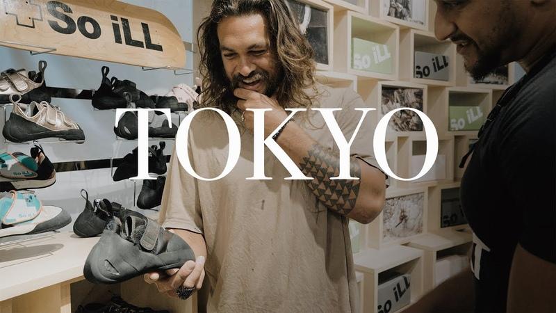 Climbing in Tokyo | Jason Momoa wSo iLL