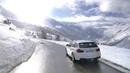 Картинка машина. Небо, Белый, 320d, Универсал, 320 d, Солнце, Зима, Дорога, BMW, Машина.