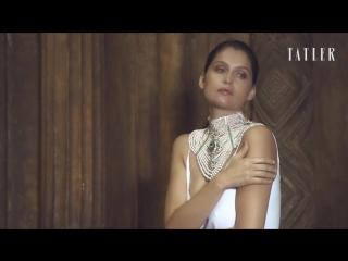 Laetitia Casta for Tatler Russia April 2018