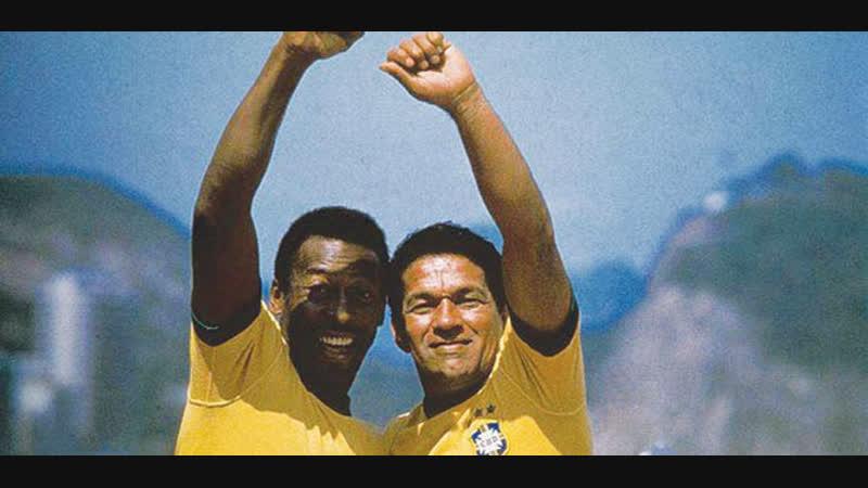 Бразильские Боги Пеле и Гарринча Gods of Brazil Pele Garrincha
