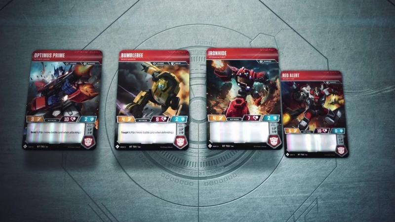 Transformers TCG 1 Autobot Starter set
