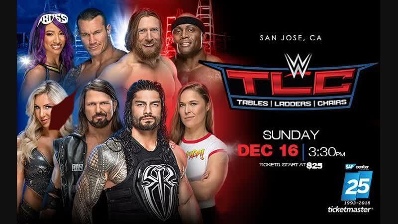 WWE Столы, Лестницы, Стулья 2018