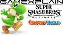 Yoshi's Crafted World Alt Costume Discovered in Smash Bros Ultimate More New Renders