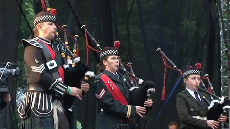 Amazing Grace - Czestochowa Pipes Drums z Królewską Orkiestrą Symfoniczną