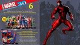 Герои Marvel 3D №6