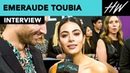Emeraude Toubia Shadowhunters Star Sings Spice Girls Song At The People's Choice Awards Hollywire