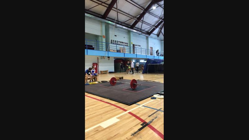 Открытое Первенство по тяжелой атлетике г Мегион