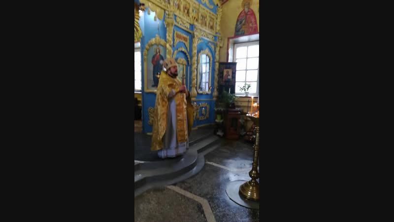 Поздравление прихожан с днем диаконской хиротонии настоятеля храма