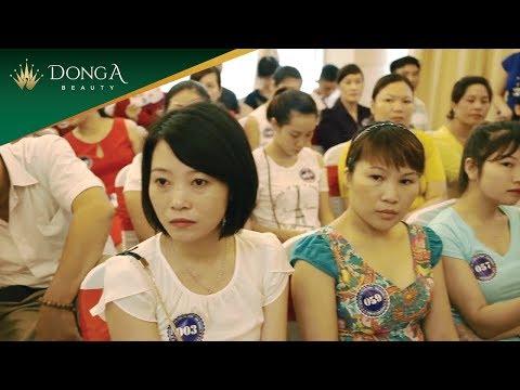 Toàn cảnh ngày hội tư vấn trị nám tàn nhang tại Đông Á