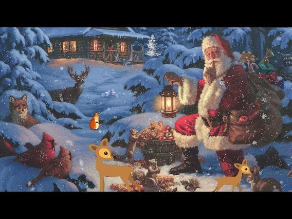 Christmas music, Peaceful music Christmas Forest by Tim Janis and artwork by Corbert Gauthier