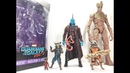 Marvel Legends Guardians of the Galaxy Vol 2 Rocket Racoon and Groot Mantis BAF Chefatron Toy Revie
