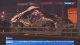 Вести-Москва  •  Страшная авария на Рязанском проспекте попала в объектив камеры наблюдения