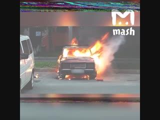 В Хабаровске пенсионерам сожгли машину, на которую они копили всю жизнь