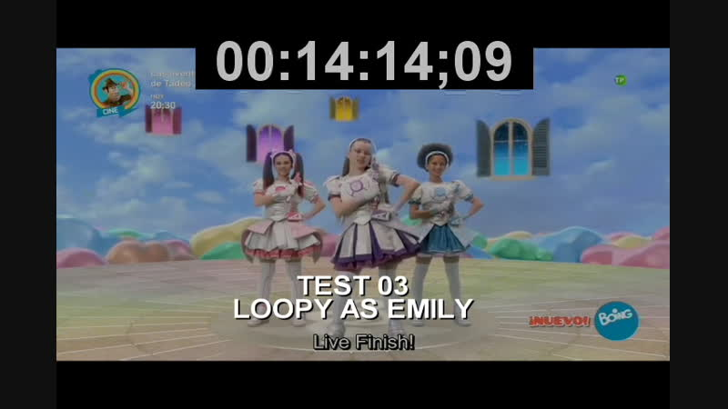 MIRACLE TUNES FANDUB - EMILY TEST | ENGLISH