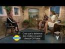 Интервью для «Telemundo Entretenimiento» в рамках промоушена «Мамма Миа: Это снова мы» в Лондоне, Великобритания  | 15. 08. 18