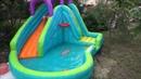 Бассейн с горкой LITTLE TIKES Игры для детей распаковка pool with slide