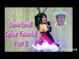 Love Live! Cyber Cosplay Tutorial Part 2 LED's, Headphones, Skirt, and Bow