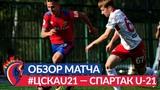 Обзор матча: ПФК ЦСКА (мол.) — Спартак (мол.) — 1:2