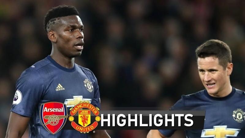🔥 Арсенал - Манчестер Юнайтед 3-5 - Обзор матча Чемпионата Англии 05122018 HD 🔥