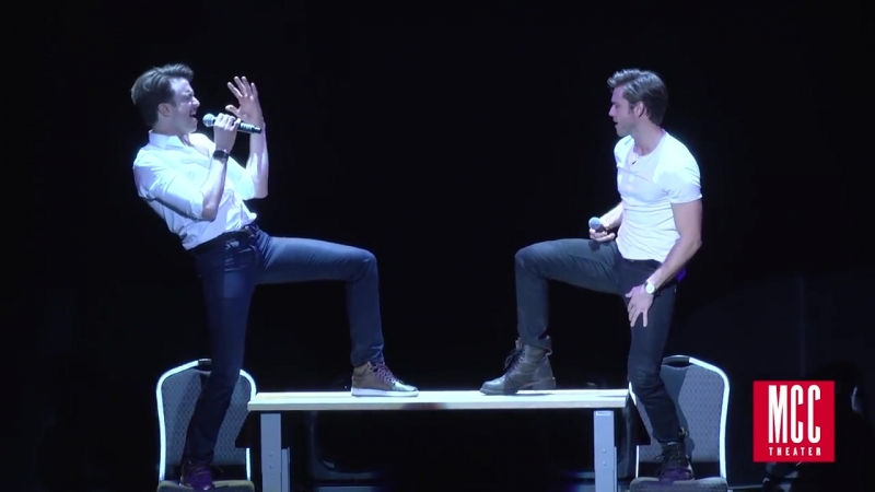 Aaron Tveit and Gavin Creel Sing Take Me or Leave Me from RENT at MCC Theater MI