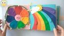 Развивающая книга из фетра Времена Года для детей от 3 лет