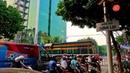 RailWay. Vietnam Railway Crossing Train Street Hanoi / Проезд железнодорожного переезда в Ханое.