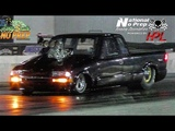 Blown truck vs Mtanous who almost crashes at the dirty south no prep