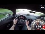 Разгон Audi R8 V10