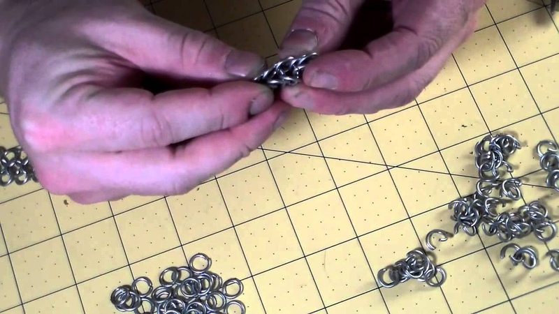 How to Make Chainmail Box Pattern