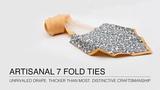7 Fold Tie Manufacture Process - Sebastien Grey