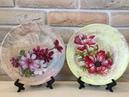 Декор тарелки к 8 марта Цветы DIY
