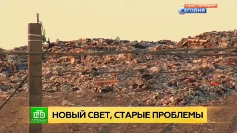 В Ленобласти пытаются втайне увеличить площадь мусорного полигона «Новый Свет» Гатчина.