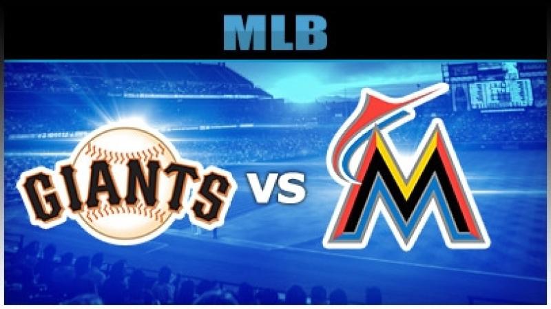 MLB 2018 San Francisco Giants vs Miami Marlins