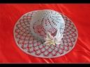 Pălărie elegantă de vară croșetată PARTEA I