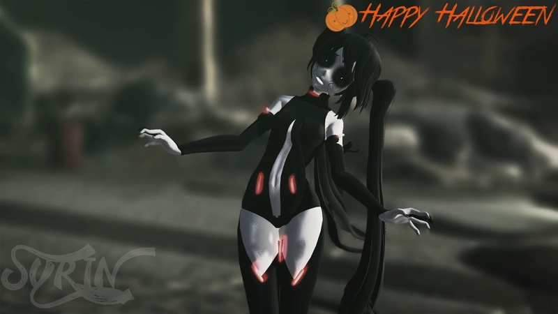 【MMD】 The Zombie Song 【Halloween Special】**FLASH WARNING**