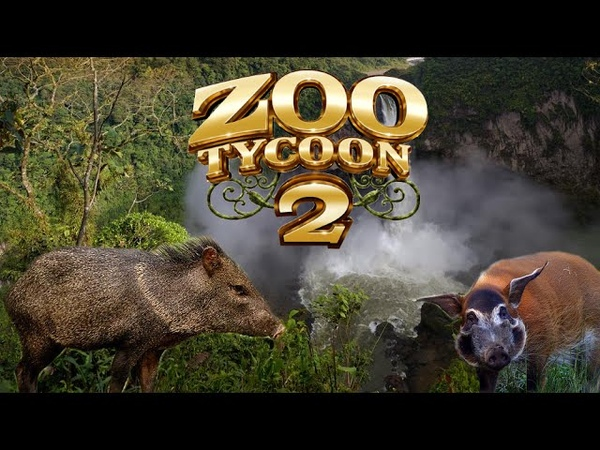 Zoo Tycoon 2: Peccary Red River Hog Exhibit Speed Build
