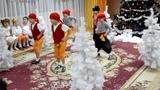 Танец разбойников. Новогодний утренник в детском саду.